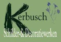 Kerbusch schilder en decoratiewerken logo kleur